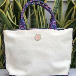 Lilly Pulitzer Ladybug Polka Dot Tote Bag Shopper